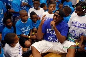 MASTER P Let The Kids Grow Community Forum – Michael Brown's cousin, friends speaks