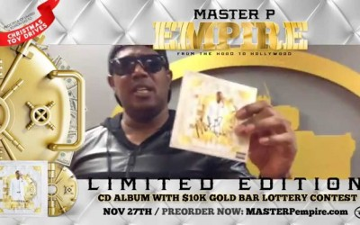 "MASTER P ""Limited Edition Signed – EMPIRE"" Album Set – ORDER NOW!"