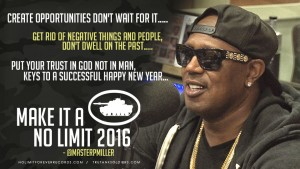 "MASTER P ""MAKE IT A NO LIMIT 2016"" @MasterPMiller"