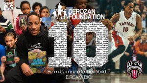 Demar All Star Off And On The Court DeRozan Foundation – Dream Big Helps Kids