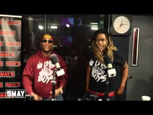 "MOE ROY & LAMBO PERFORM ""TO THE TOP I GO"" ON SWAY"
