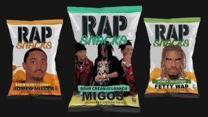 New Rap Snacks Packaging To Feature Fetty Wap, Romeo Miller, and Migos