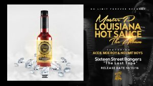 "MASTER P NEW ALBUM ""LOUISIANA HOT SAUCE"" Album Cover Art"