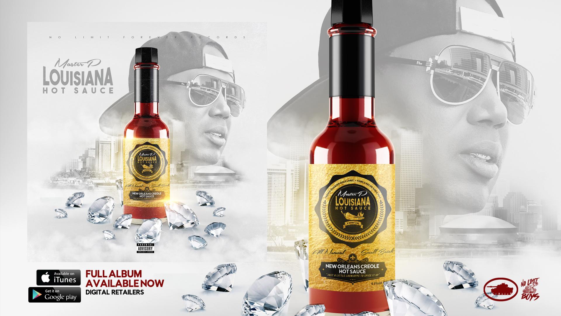 "Master P ""Louisiana Hot Sauce Album – No Limit Boys"