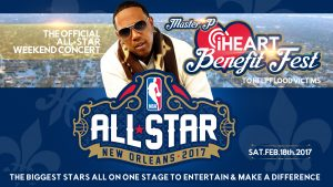 Master P iHeart Fest NBA All Star Week Big Stars Perform To Help Hurricane Victims