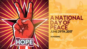 Master P and Team Hope Nola – National Day of Peace
