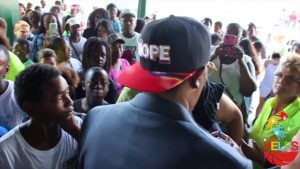 Master P And GMGB GIVE BACK TO POMPANO BEACH, FLORIDA KIDS