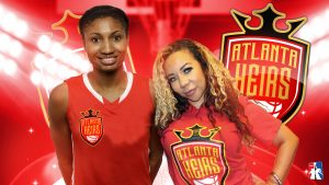 "TAMEKA ""TINY"" HARRIS SIGNS TWO-TIME OLYMPIC GOLD MEDALIST ANGEL LAJUANE MCCOUGHTRY TO COACH ATLANTA HEIRS"