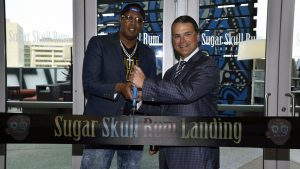 SUGAR SKULL RUM PARTNERS  WITH THE ORLANDO MAGIC AMWAY CENTER