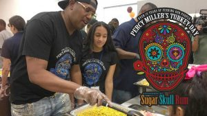 Percy Miller 19th Annual Thanksgiving Day Event Sponsored By Sugar Skull Rum