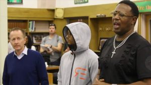 Master P ,Romeo and Vision To Learn Gave Free Eye Glasses to Crenshaw Students.