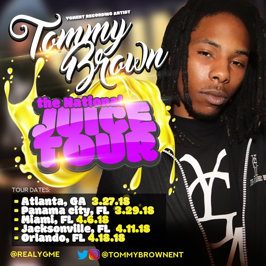 TommyBrown_JuiceTour
