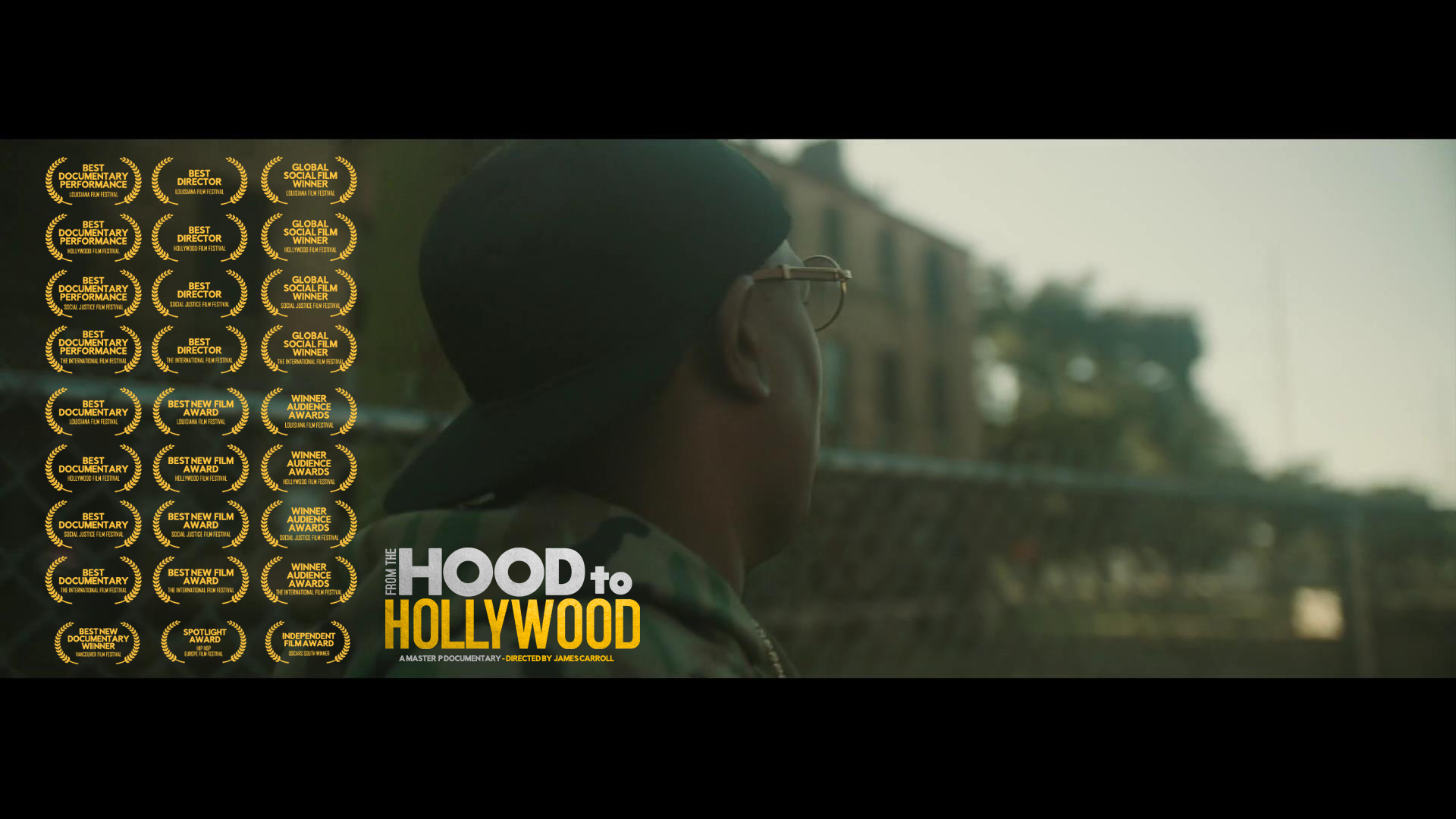 """4871d9634 THE INSPIRING UNTOLD MASTER P DOCUMENTARY """"FROM THE HOOD TO HOLLYWOOD"""""""