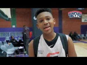 Mercy Miller Top 7th Grader Shoots like Stephen Curry Portland Elite Middle School Tournament