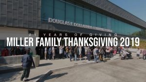MASTER P 2019 MILLER FAMILY 21ST THANKSGIVING EVENT FEEDS THOUSANDS