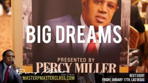 "Master P ""MASTERCLASS"" Fri Jan 17th 2020 LAS VEGAS – Sign Up Now!"