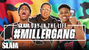 """Hercy & Mercy Miller """"Up Next"""" The Future Basketball Stars."""