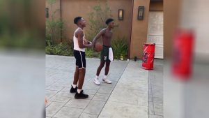 MASTER P'S TWO YOUNGER SONS HERCY AND MERCY ARE PHENOMENAL BASKETBALL PLAYERS