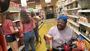 O.G. KICKED OUT OF THE STORE WHILE LOOKING FOR UNCLE P RICE AND PANCAKES