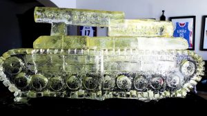 MASTER P MAKES HISTORY NO LIMIT CHRONICLES #1 AND THE BIGGEST ICE SCULPTURE OF A TANK IN THE WORLD
