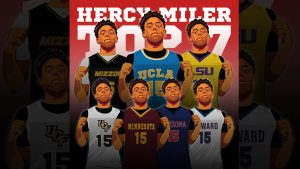 HERCY MILLER HIGH SCHOOL BASKETBALL STAR PICKS HIS SEVEN TOP COLLEGES TO ATTEND