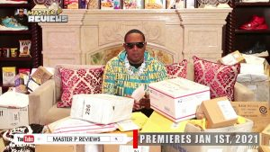 """PERCY MILLER TAKES THE UNTRADITIONAL ROUTE WITH NEW TV SHOW """"MASTER P REVIEWS"""" AIRS ON YOUTUBE JAN. 1ST 2021"""