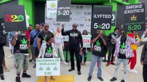MASTER P LEADS 'CANNABIS FREEDOM DAY' MARCH TO PROTEST MARIJUANA CONVICTIONS 5/20