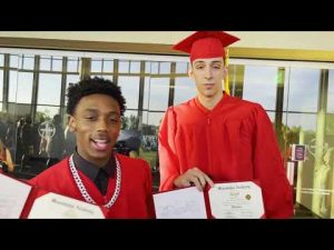 """Master P's Son """"HERCY MILLER"""" Class of 2021 HS Graduate"""