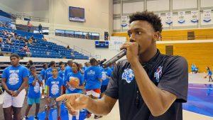 Hercy Miller Basketball Camp #15 Gave Back to Over a 1000 kids in Nashville, TN.