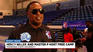 HERCY MILLER AND MASTER P HELD FREE CAMP FOR OVER 1000 YOUTH IN NASHVILLE